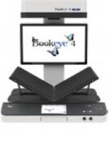 An front-facing image of the Bookeye4 Overhead scanner.